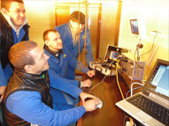 ROV pilots training in Moscow