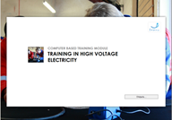 МОМ  TRAINING IN HIGH VOLTAGE ELECTRICITY