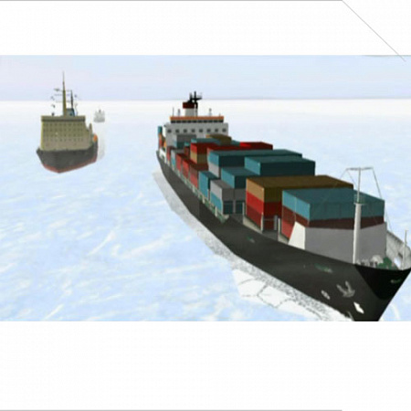 "Видеофильм ""ICE NAVIGATION AND BALTIC ICE CONDITION"""